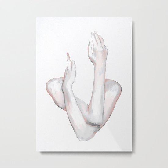 HANDS 8 Metal Print