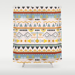 Tribal Patter Shower Curtain