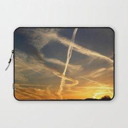 Sky Writing Laptop Sleeve