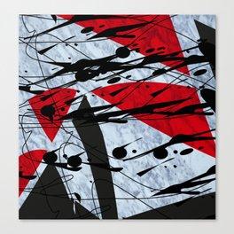 Zick Zack I Canvas Print