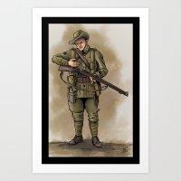 ANZAC Art Print