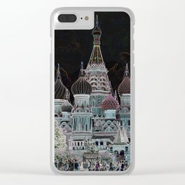 St. Basil's Cathedral v Clear iPhone Case