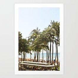 Waikiki, Oahu, Hawaii Art Print