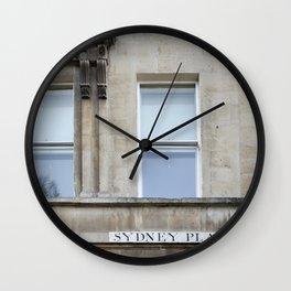 Sydney Place Wall Clock