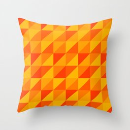 Triangles II Throw Pillow
