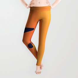 Yellow Tulip Leggings