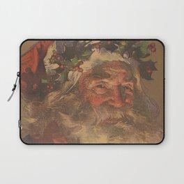 Vintage Santa Claus Illustration (1907) Laptop Sleeve