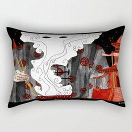 """""""Beijing"""" Illustration Tarmasz Rectangular Pillow"""