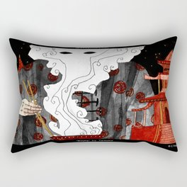 """Beijing"" Illustration Tarmasz Rectangular Pillow"