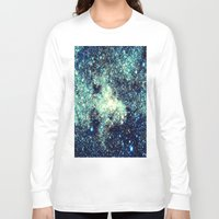 galaxy Long Sleeve T-shirts featuring gAlAxY by 2sweet4words Designs