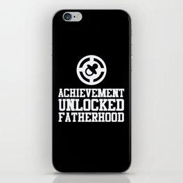 Achievement Unlocked Fatherhood iPhone Skin