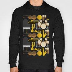 Jazz instruments Hoody