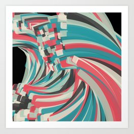 Chaos And Order Art Print