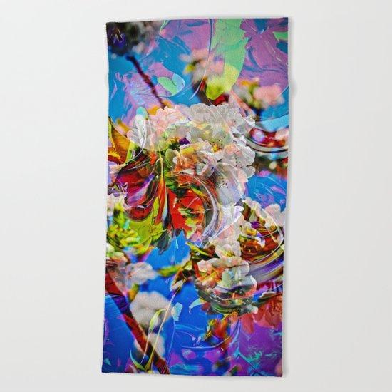 Abstract Perfekion - Spring Beach Towel