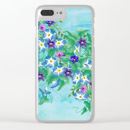 Watercolor Spring Bouquet  Clear iPhone Case