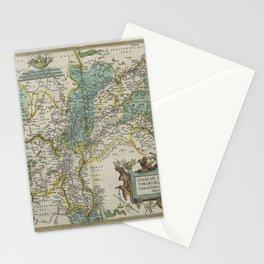 Vintage Map - Ortelius: Theatrum Orbis Terrarum (1606) - Gelderland Stationery Cards