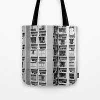 urban Tote Bags featuring Urban  by Elsa Harley