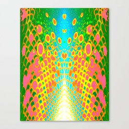Engage Plasma Beam Canvas Print