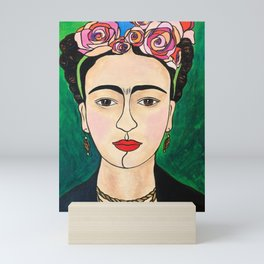 Frida Khalo Portrait Mini Art Print