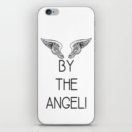 By the Angel! iPhone Skin