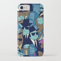 blues brothers iPhone & iPod Cases featuring The Blues Brothers by Ale Giorgini
