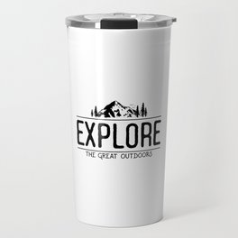 Explore the Great Outdoors Travel Mug
