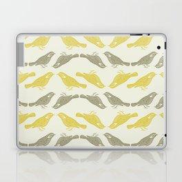 Little Bird (gold) Laptop & iPad Skin