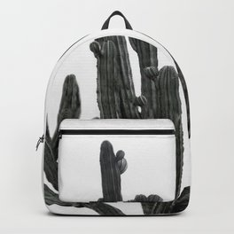 Black and White Cactus Backpack