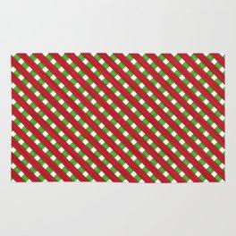 Christmas Wood Lattice Rug