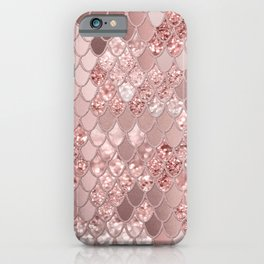 Mermaid Glitter Scales #8 (Faux Glitter) #shiny #decor #art #society6 iPhone Case