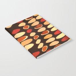 Irregular circles - ethnic theme Notebook