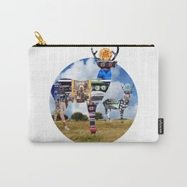 DeerInvasion - Unbelievable Nature Scene 4 Carry-All Pouch