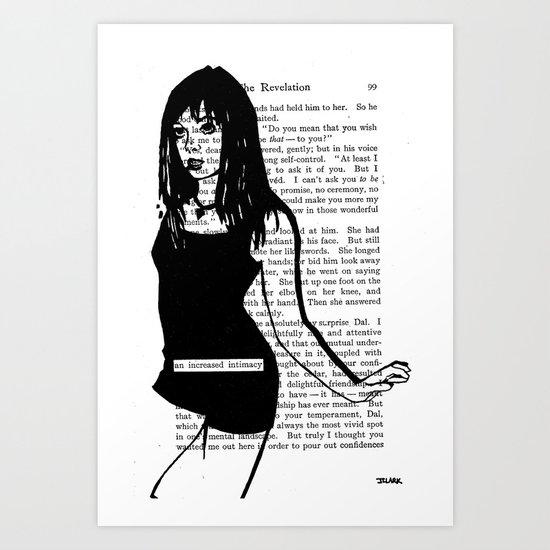 An Increased Intimacy Art Print