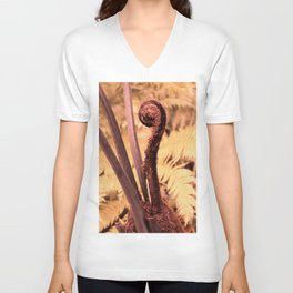 Exotical Fern Unisex V-Neck
