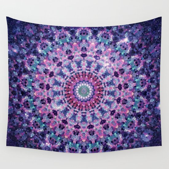 ARABESQUE UNIVERSE Wall Tapestry