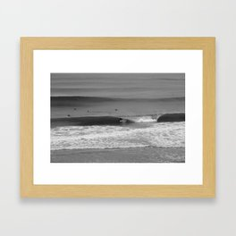 D Street Encinitas, California  Framed Art Print