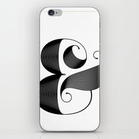ampersand iPhone & iPod Skins featuring Ampersand by Jude Landry
