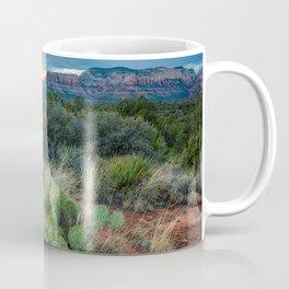 Southwest Serenade - Sunset at Sedona Arizona Coffee Mug