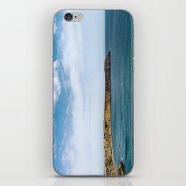 Ocean view from Fortaleza de Sagres, Portugal iPhone Skin