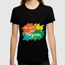 Makes a great gift for everyone feels good to wear this Forgiven tee design you are blessed & gifted T-shirt