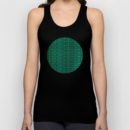 Tribal Forest Unisex Tank Top