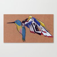 gundam Canvas Prints featuring Gundam Wing by charalanahzard