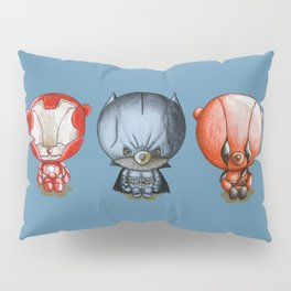 Three Little Hero's Pillow Sham