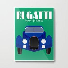 Bugatti Type 57SC Atlantic Metal Print