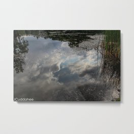 Cloudy Water  Metal Print
