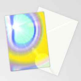light and colour Stationery Cards