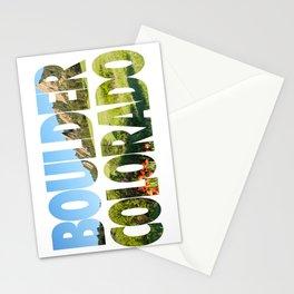 Boulder Colorado Stationery Cards