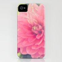 Pink Dahlia iPhone (4, 4s) Slim Case