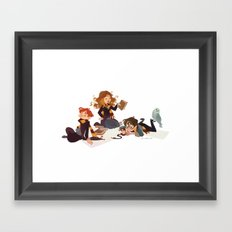 Important Wizarding Framed Art Print