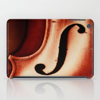 violin iPad Cases featuring Violin by Maite Pons
